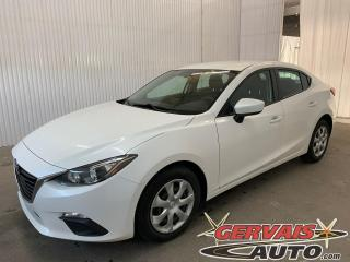 Used 2016 Mazda MAZDA3 GX Caméra de recul GPS A/C Bluetooth for sale in Trois-Rivières, QC