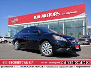 Used 2014 Nissan Sentra S | CLEAN CARFAX | 123,474 KM | A/C | BLUETOOTH for sale in Georgetown, ON