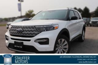 New 2020 Ford Explorer LIMITED for sale in Tillsonburg, ON