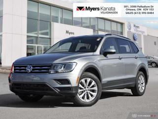 Used 2019 Volkswagen Tiguan Trendline 4MOTION  -  Apple CarPlay for sale in Kanata, ON