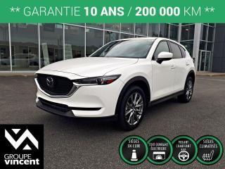 Used 2019 Mazda CX-5 SIGNATURE AWD ** GARANTIE 10 ANS ** VUS léger et polyvalent, incroyablement robuste, performant et économique! for sale in Shawinigan, QC