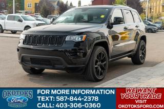 Used 2018 Jeep Grand Cherokee Limited LIMITED/3.6L/SUN ROOF/HTS AND COOLED SEATS for sale in Okotoks, AB