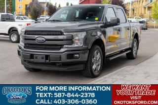 Used 2018 Ford F-150 Lariat 502A/LARIAT/TWIN PANEL ROOF/FX4/TLG STEPS for sale in Okotoks, AB