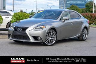 Used 2016 Lexus IS 300 **PREMIUM AWD** *AWD*CAMERA DE RECUL*BANCS CHAUFFANTS ET VENTILÉ*VOLANT CHAUFFANTS*TOIT OUVRANT* for sale in Montréal, QC