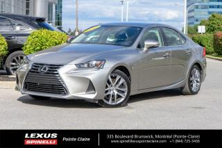 Used 2017 Lexus IS 300 **AWD** *BAS MILEAGE*AWD*BANCS CHAUFFANTS*CAMERA DE RECUL*SYSTEME LSS+* for sale in Montréal, QC