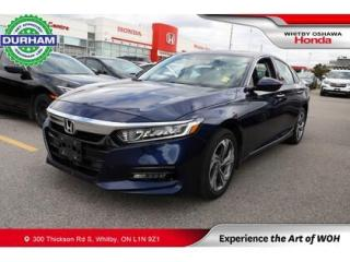 Used 2020 Honda Accord EX-L for sale in Whitby, ON