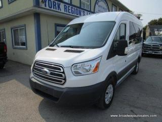 Used 2017 Ford Transit PEOPLE MOVING XLT EDITION 8 PASSENGER 3.7L - V6.. MEDIUM-ROOF.. 130