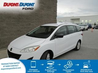 Used 2012 Mazda MAZDA5 Familiale 4 portes, boîte manuelle, GS for sale in Gatineau, QC
