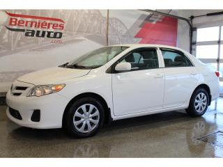 Used 2012 Toyota Corolla CE A/C + for sale in Lévis, QC