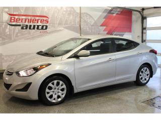 Used 2016 Hyundai Elantra GL for sale in Lévis, QC