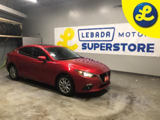 Used 2015 Mazda MAZDA3 Power sunroof * Heated front seats * Reverse camera * Push button ignition * Keyless entry * Phone connect * Hands free steering wheel controls * Crui for sale in Cambridge, ON