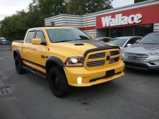 Used 2016 RAM 1500 Stinger Yellow Crew Cab 4WD HEMI for sale in Ottawa, ON