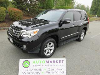Used 2010 Lexus GX 460 ULTRA PREMIUM, LOADED, INSP, BCAA MBSHP, WARRANTY, FINANCING! for sale in Langley, BC