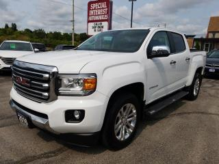Used 2016 GMC Canyon SLT NAVIGATION !!  HEATED LEATHER !!  BLUE TOOTH !! for sale in Cambridge, ON
