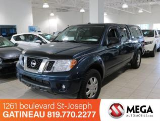Used 2014 Nissan Frontier SV 4X4 for sale in Gatineau, QC
