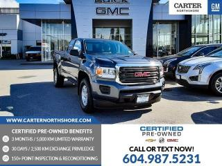 Used 2017 GMC Canyon BEDLINER - BLUETOOTH - REAR VIEW CAMERA for sale in North Vancouver, BC