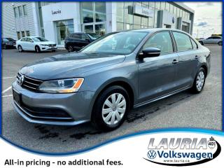 Used 2015 Volkswagen Jetta Sedan TRENDLINE+ AUTO for sale in PORT HOPE, ON