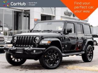New 2021 Jeep Wrangler New High Altitude 4x4 Sky Roof Alpine Audio Navigation for sale in Thornhill, ON