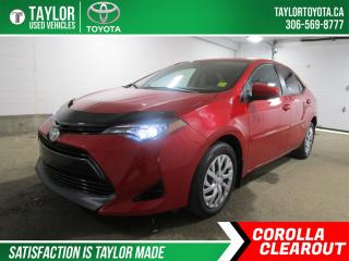 Used 2017 Toyota Corolla LE PACKAGE! for sale in Regina, SK