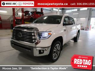 New 2020 Toyota Tundra Platinum 1794 Edition for sale in Moose Jaw, SK