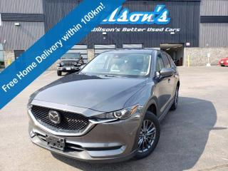 Used 2019 Mazda CX-5 GS AWD, Comfort Package, Leather/Suede, Sunroof, Apple CarPlay & Android Auto, Blind Spot Monitor for sale in Guelph, ON