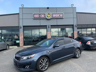 Used 2014 Kia Optima SX TURBO for sale in Thunder Bay, ON