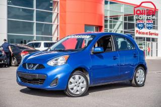Used 2015 Nissan Micra S/GARANTIE PROLONGEE DISPONIBLE* 02985A  BLEU for sale in Terrebonne, QC