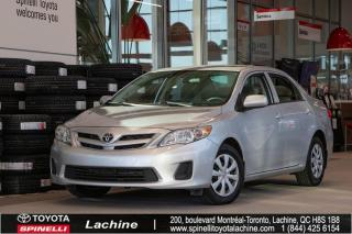 Used 2013 Toyota Corolla CE D PKG TOIT OUVRANT! BAS MILEAGE! for sale in Lachine, QC