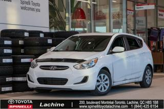 Used 2017 Hyundai Accent LE DEMARREUR A DISTANCE INCLUS for sale in Lachine, QC