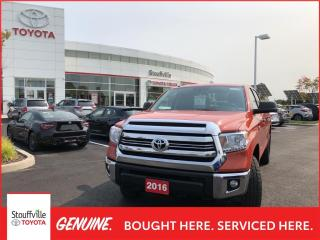 Used 2016 Toyota Tundra SR5 5.7L V8 TRD OFFROAD - SOFT TONNEAU COVER - LINEX BED - POWER MOONROOF for sale in Stouffville, ON