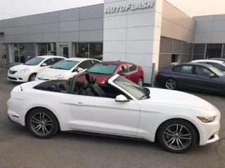 Used 2017 Ford Mustang ECOBOOST *PREMIUM *CONVERTIBLE *CUIR *CAMERA for sale in St-Hubert, QC