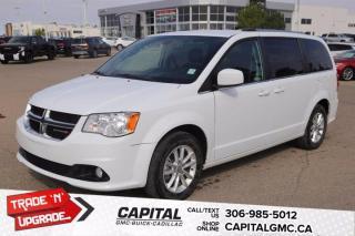 Used 2019 Dodge Grand Caravan SXT Premium Plus*LEATHER*NAV* for sale in Regina, SK