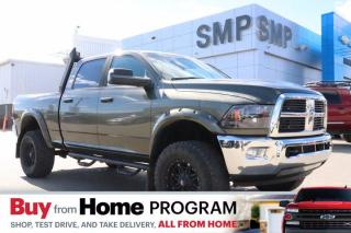 Used 2012 RAM 3500 SLT - Lifted, Leather, Remote Start for sale in Saskatoon, SK