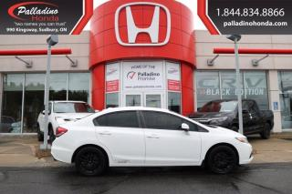 Used 2013 Honda Civic Sdn Si-VTEC- MANUAL-CERTIFIED-CLEAN for sale in Sudbury, ON