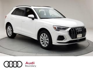 Used 2020 Audi Q3 45 2.0T Komfort quattro 8sp Tiptronic for sale in Burnaby, BC