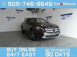 Used 2016 Mercedes-Benz GLA GLA 250   AWD   LEATHER   ROOF   NAV   ONLY 37 KM! for sale in Brantford, ON