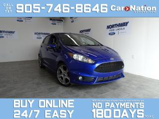 Used 2015 Ford Fiesta ST | 6 SPEED M/T | RECARO SEATS | ROOF | ONLY 64K for sale in Brantford, ON