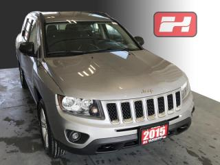 Used 2015 Jeep Compass Sport/North 4WD   Front Bucket Seats   Front Fog Lights for sale in Stratford, ON