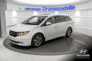 Used 2015 Honda Odyssey TOURING + GARANTIE + NAVI + TOIT + CUIR for sale in Drummondville, QC