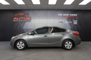 Used 2015 Kia Forte LX MANUELLE 6 VITESSES BLUETOOTH 120 319 KM !! for sale in Lévis, QC