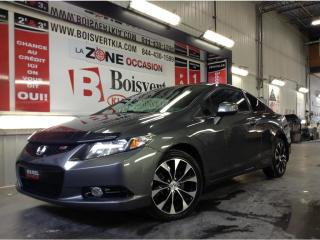 Used 2013 Honda Civic CIVIC SI GPS TOIT DÉMARREUR TAPIS HIVER COMPLET for sale in Blainville, QC