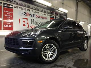 Used 2018 Porsche Macan MACAN AWD TOIT PANO GPS CAMÉRA SPORT LOOK ! for sale in Blainville, QC