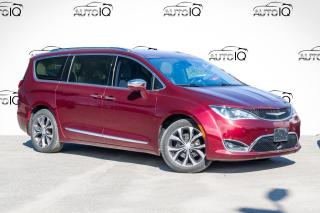 Used 2017 Chrysler Pacifica Limited PANO MOONROOF|HEATED WHEEL|PARKING SENSORS|POWER LIFTGATE for sale in Barrie, ON