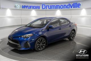 Used 2019 Toyota Corolla SE + GARANTIE + TOIT + CUIR + CAMERA + W for sale in Drummondville, QC