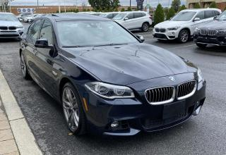 Used 2016 BMW 535 4dr Sdn 535i xDrive AWD for sale in Dorval, QC