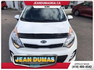 Used 2017 Kia Rio MODÈLE EX TOIT MAG BAS KILOS 5 PORTES for sale in Alma, QC