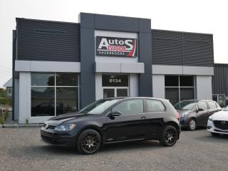Used 2015 Volkswagen Golf 1.8 TSI Trendline + MAGS + INSPECTÉ + FREINS NEUF for sale in Sherbrooke, QC