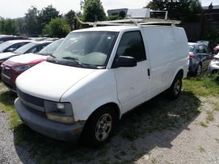 Used 2005 Chevrolet Astro ELECTRICAL WORK TRUCK ADD 800. FOR CERT for sale in Toronto, ON