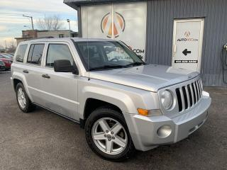 Used 2010 Jeep Patriot ***SPORT,AUTOMATIQUE,4X4,AUBAINE*** for sale in Longueuil, QC