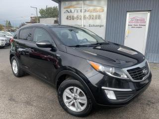 Used 2013 Kia Sportage ***LX,AWD,BIEN ÉQUIPÉ,BLUETOOTH,A/C*** for sale in Longueuil, QC
